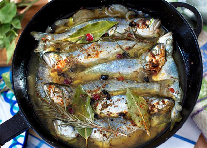 рецепты блюд из рыбы на рыбалке